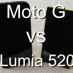 Auf der Suche nach dem Sweet Spot: Moto G gegen Lumia 520