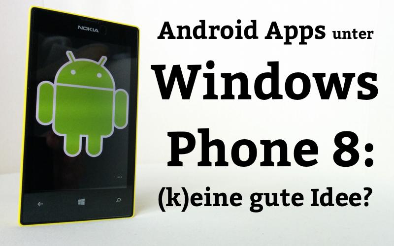 AndroidAppsWP8
