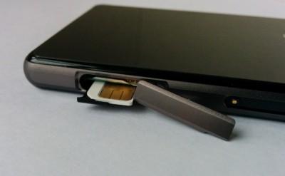 Der SIM-Einschub ist selten umständlich