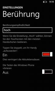 Features wie Double-Tap-To-Wake sind auf die höherpreisigen Lumia Geräte beschränkt