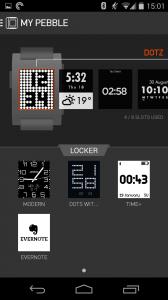 Im Locker werden alle Apps gelagert