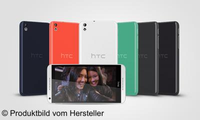 HTC ist mit dem Desire 816 wieder in der gehobenen Mittelklasse vertreten