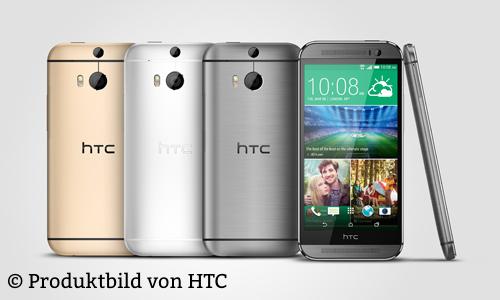 Trotz On-Screen Tasten behält das neue One den nun nutzlosen schwarzen HTC-Balken