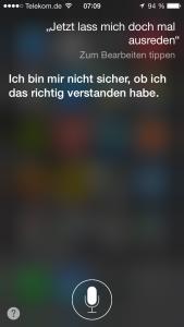 Siri hat das Zuhören gelernt