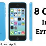 Warum das iPhone 5C mit 8GB doch (keinen) Sinn macht (Update)