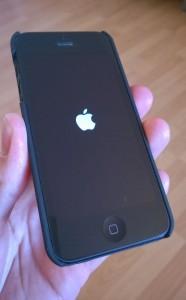 Keine Seltenheit unter iOS 7: Soft-Reset im laufenden Betrieb