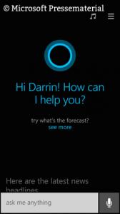 Medienwirksam: Die Sprachassistentin Cortana