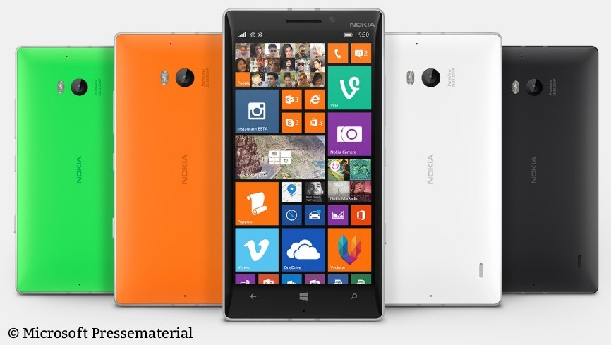 Endlich auch in Europa: Das Lumia 930 aka Icon