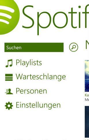 Die Windows Phone 8 App bisher: Kaum nutzbar