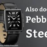 Warum ich doch eine Pebble Steel bestellt habe