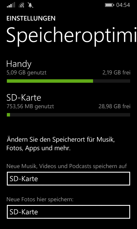 Lumia630SDKarte