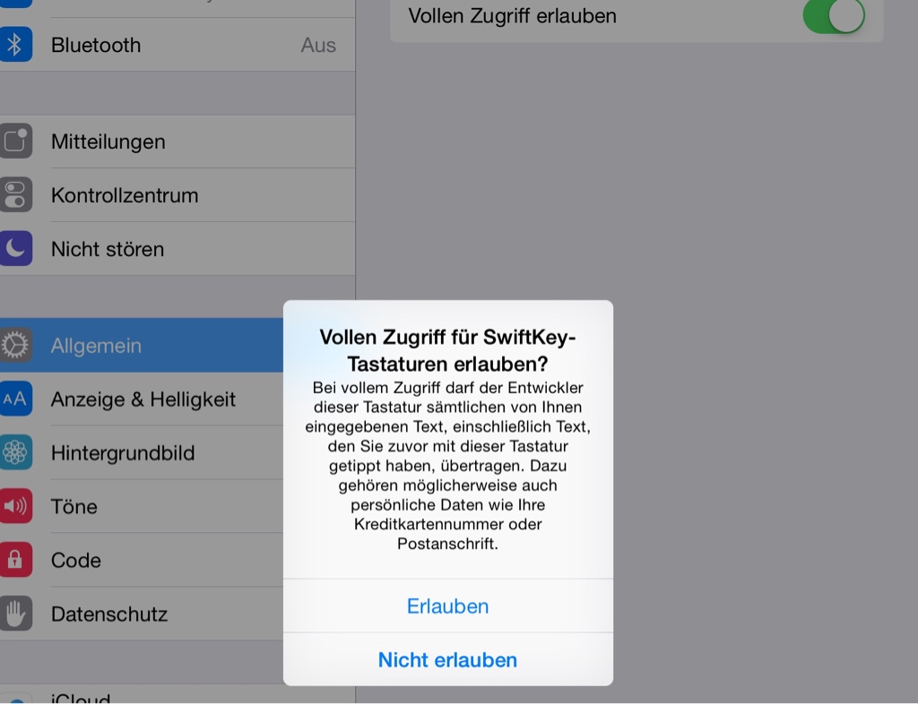 iOS8Sicherheit