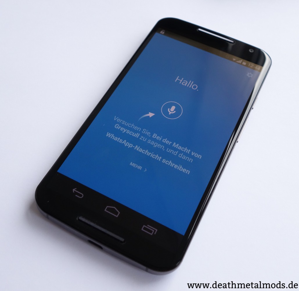 MotoX2014Sprache