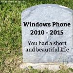 Ganz oder gar nicht: Wird es Zeit, Windows Phone zu beerdigen?