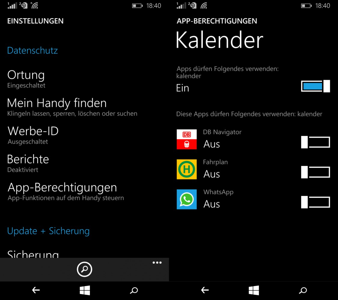 Lumia640Datenschutz
