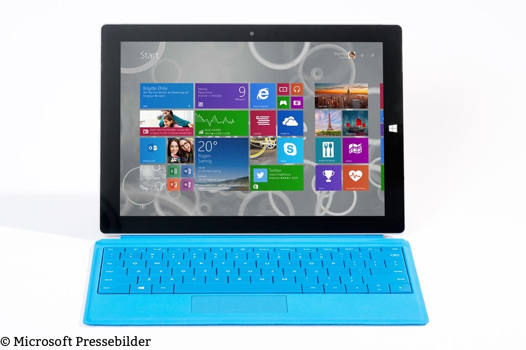 Surface 3 - Type Cover Blau