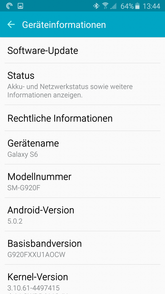 GalaxyS6Software
