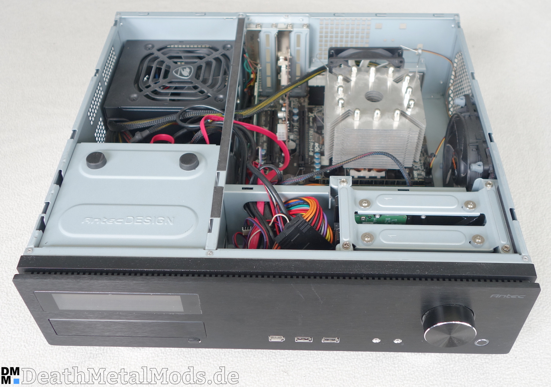 Im Inneren Meines HTPC Arbeitet Normale PC Hardware