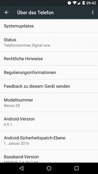 Nexus5XSoftware