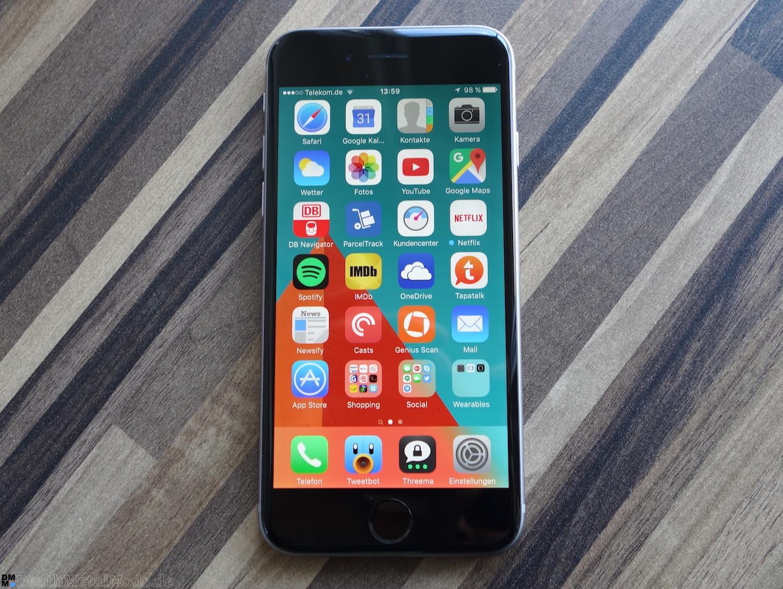 iPhone6RueckblickDisplay1