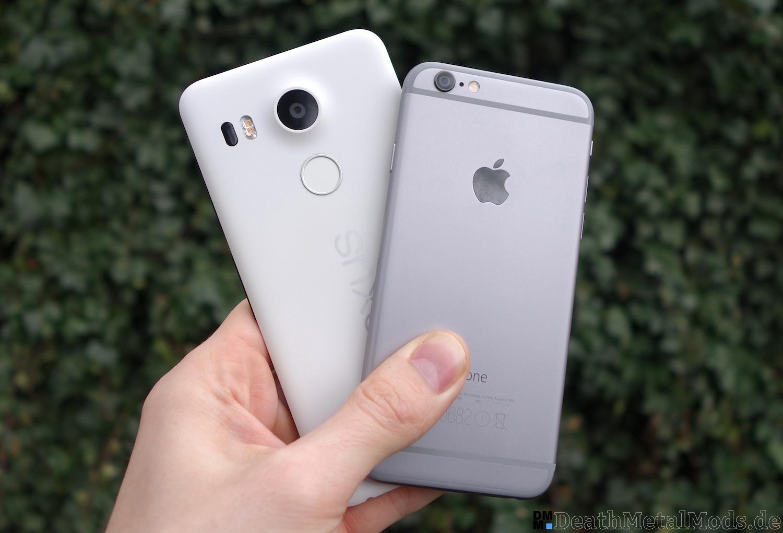 iPhone6RueckblickNexus5X