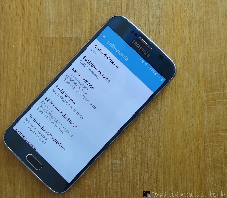GalaxyS6RueckblickSoftware