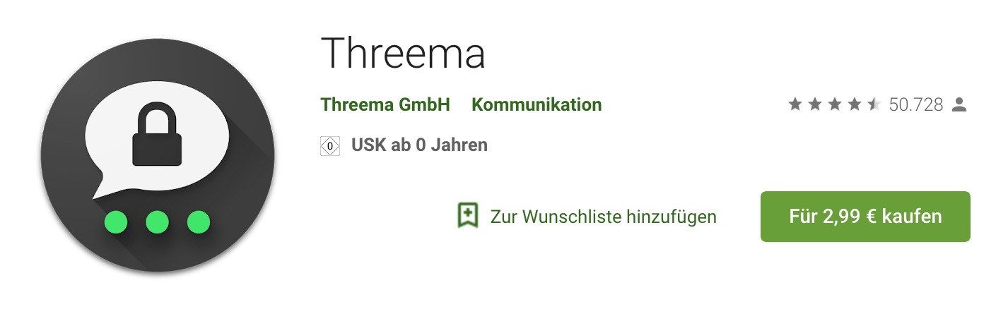 Threema (Google Play Store)